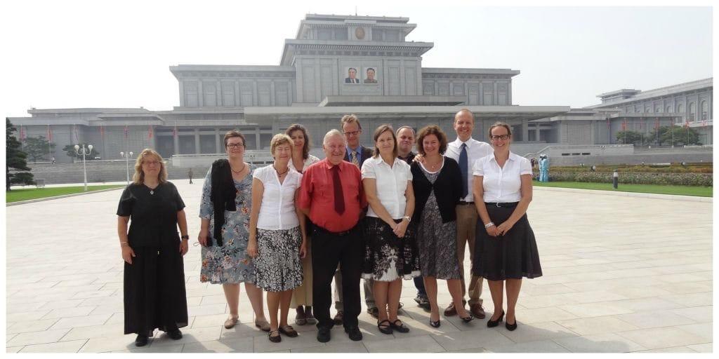 Noord-Korea kumsusan palace