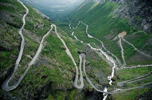 motorroutes Europa Noorwegen_Trollstig_Veien