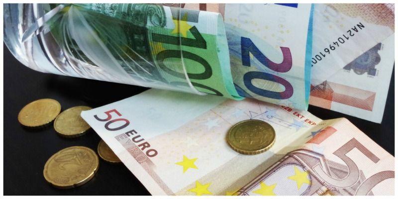 Online boeken krediet euros