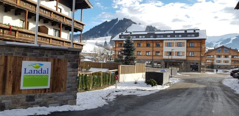 Oostenrijk Landal Resort Maria Alm entree