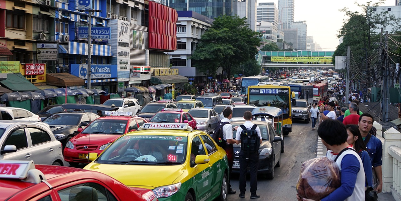 Overtoerisme File Bangkok Thailand