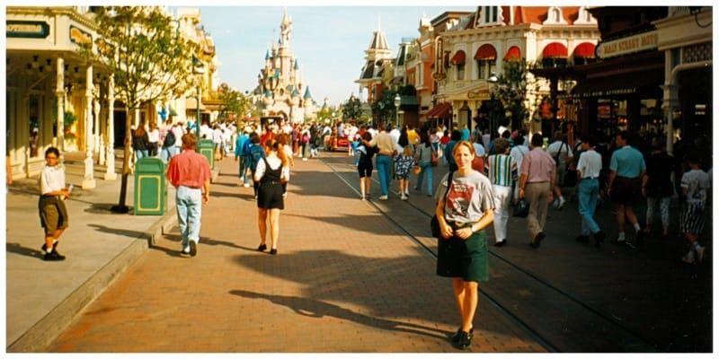 Parijs Frankrijk Disneyland Mainstreet