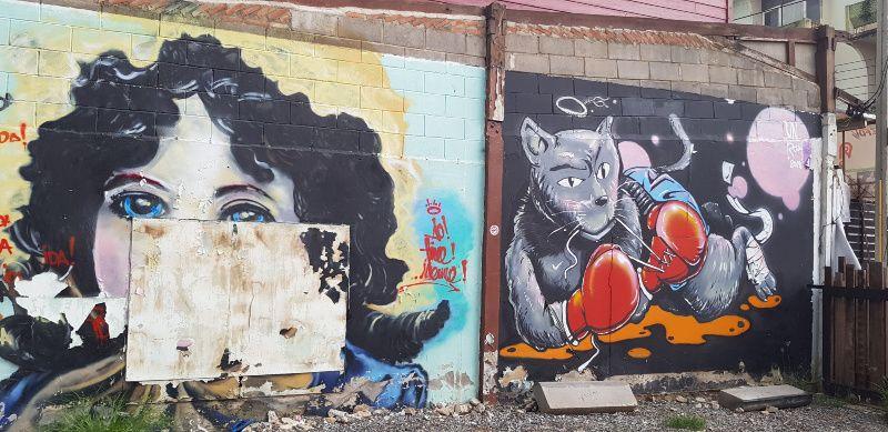Phimai Thailand street art