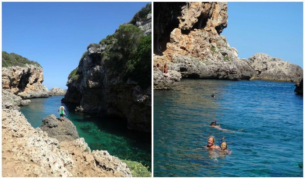 Reismaatje Menorca Cala Rafalet