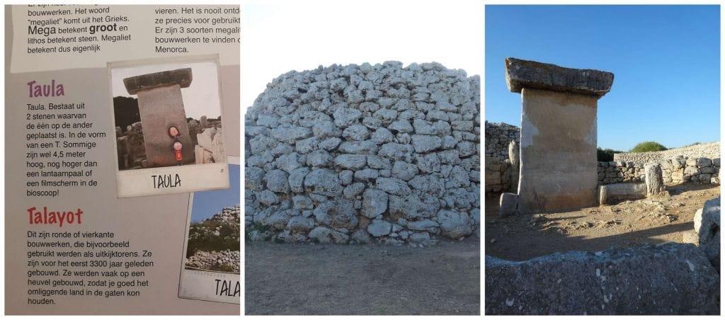 Reismaatje Menorca Taula en Talayot