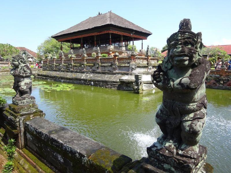 Reisroute Bali stop Ubud Sidemen Klungkung