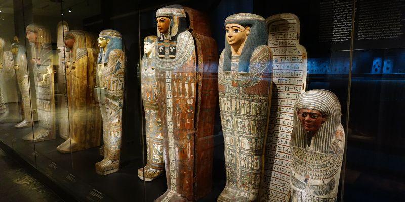 Rijksmuseum van Oudheden mummies en meer