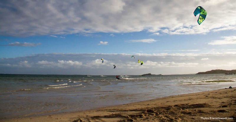 Rodrigues kitesurfers