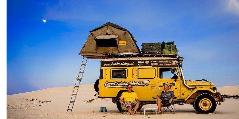 Ruim 15 jaar op reis in een oude Land Cruiser – hoe doe je dat?