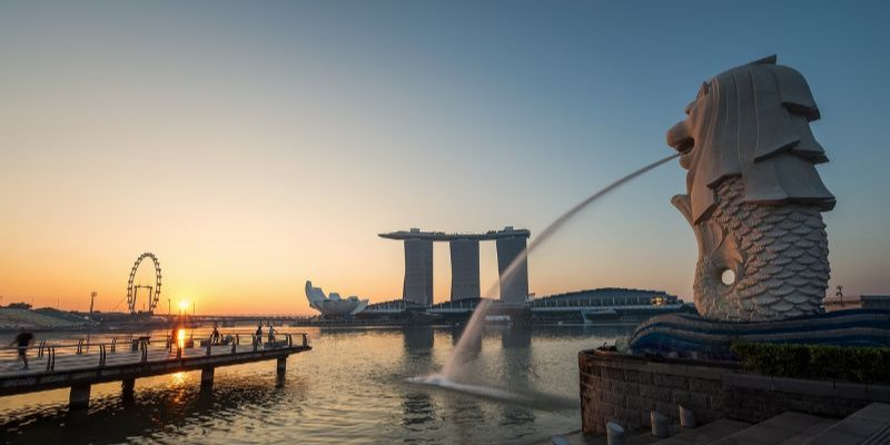 Singapore gratis merlion
