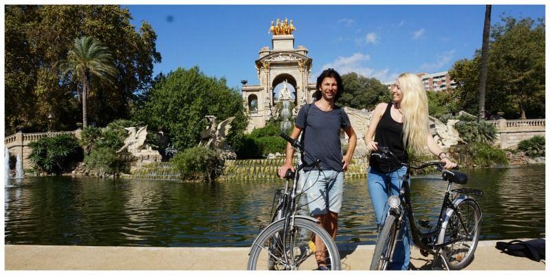 Robin startte haar eigen onderneming: Fietstours Barcelona