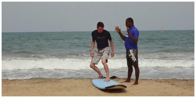 Sri Lanka Arugam Bay surfen