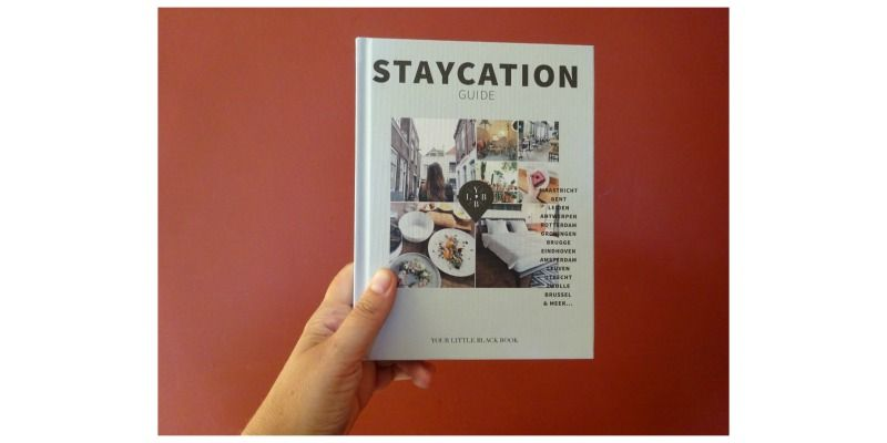 Staycation Guide Your Litte Black Book Terra