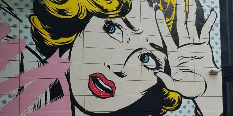 Street art Amsterdam-Oost Platanenweg Wibautstraat Nederland OmniTraveler
