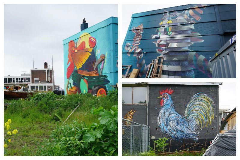 Street art Rotterdam Weelde
