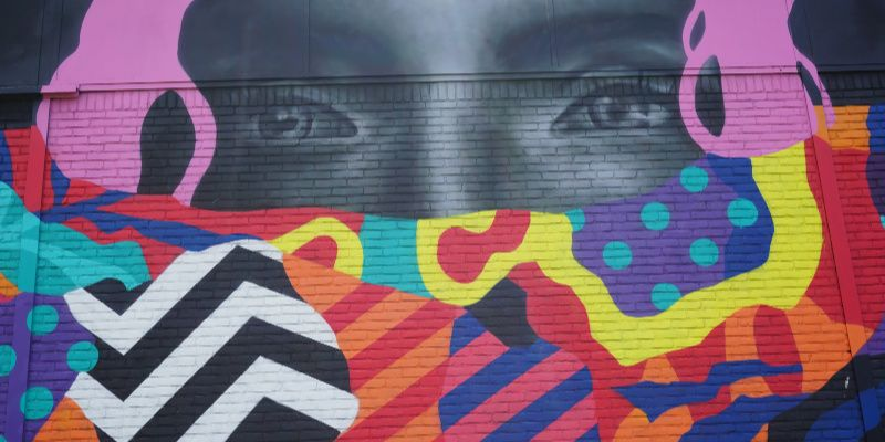 Street art Rotterdam marconistraat