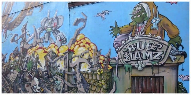 Streetart Gent