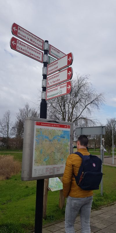 wandelen in Amsterdam Noord