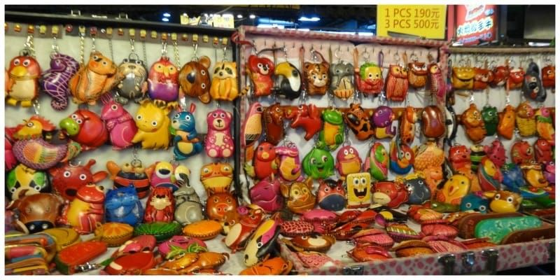 Taiwan Taipei avondmarkt