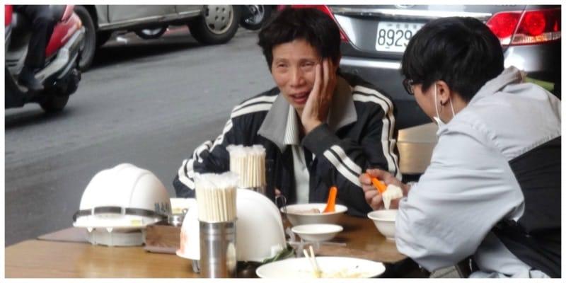 Taiwan Tapei streetfood