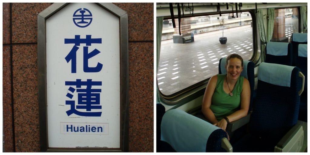 Taiwan trein_Hualien_Taipei