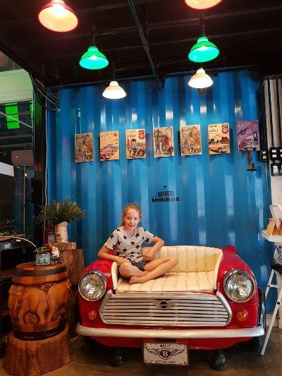 Thailand Kalasin Minibox Cafe