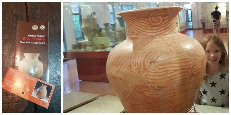 Thailand roadtrip Isaan Udon Thani Ban Chiang National Museum pot