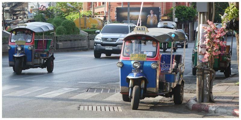 Thailand visum Thailand tuktuk