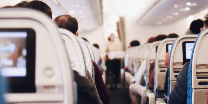 Travel apps vliegtuig