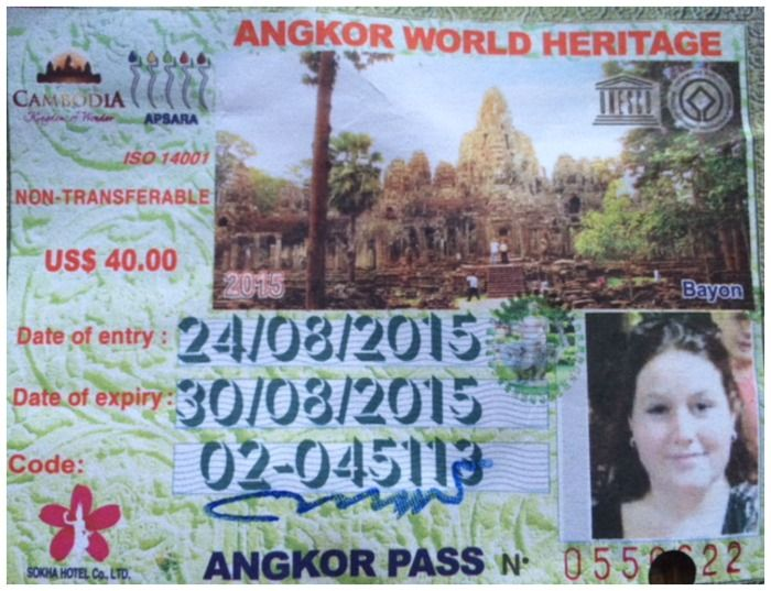 Travelers Tales Cambodja Angkor toegang