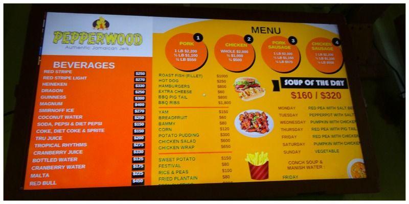 Travelfood Jamaica Jerk Chicken menukaart