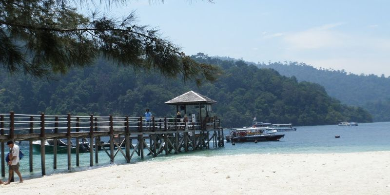 Tunku Abdul Rahman National Park, relaxte eilanden nabij Kota Kinabalu