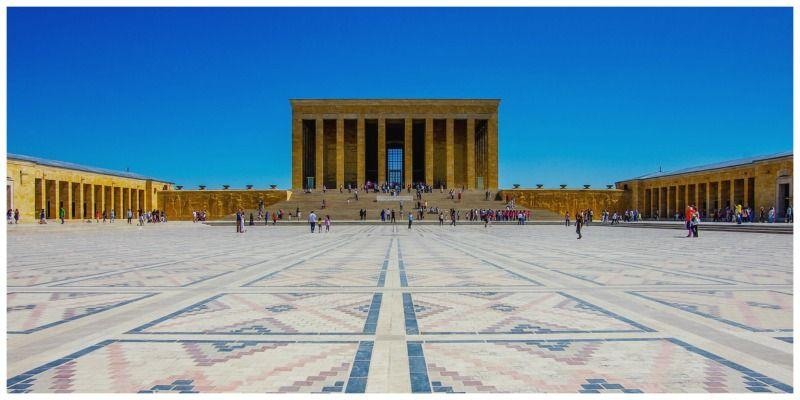 Turkije Ankara mausoleum Ataturk