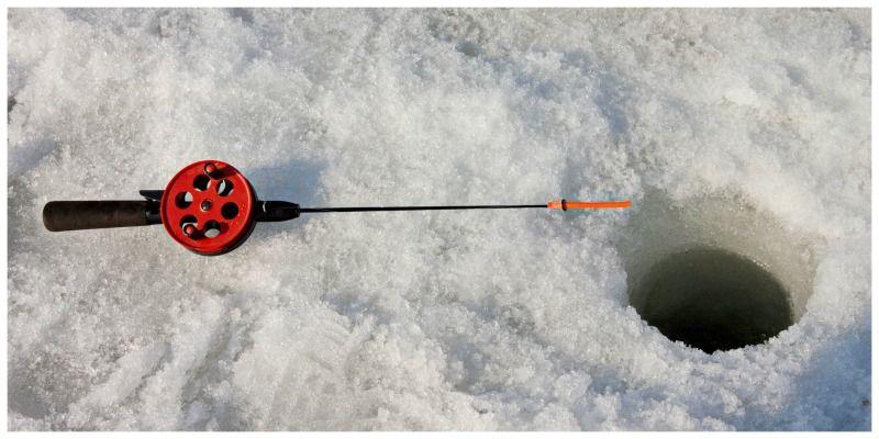Verenigde Staten Minnesota ijsvissen