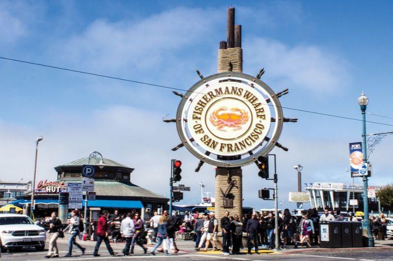 Verenigde Staten San Francisco Fisherman Wharf
