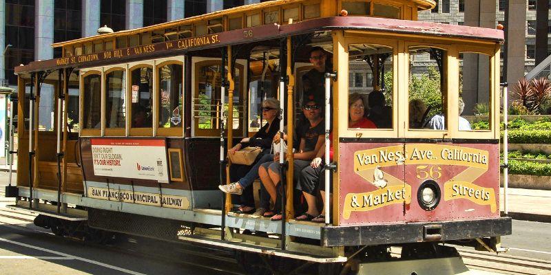 Verenigde Staten San Francisco tram