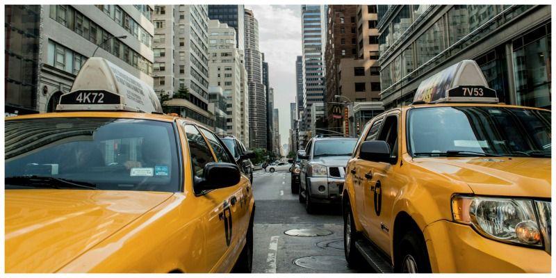Verenigde staten New York cabs