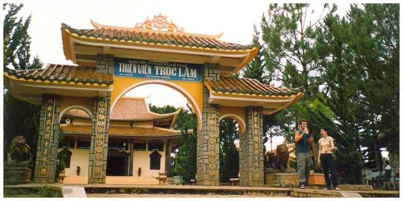 Vietnam Dalat Thien Vien Truc Lam