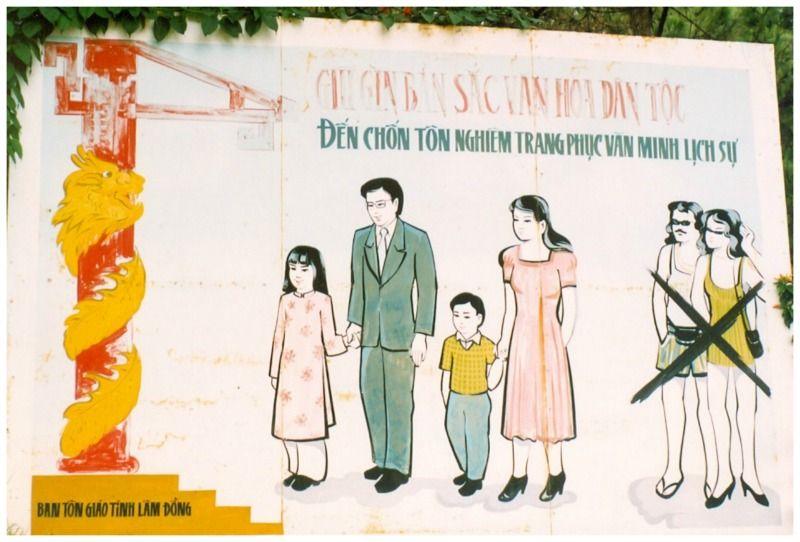 Vietnam Dalat kledingvoorschriften