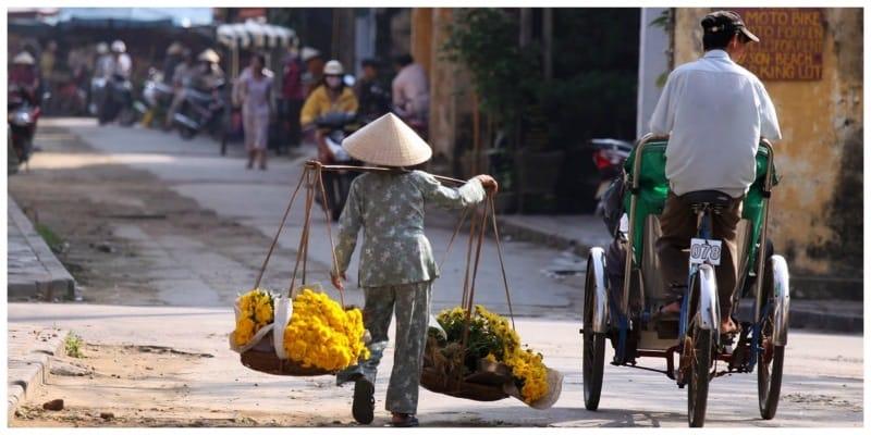 Vietnam straatbeeld