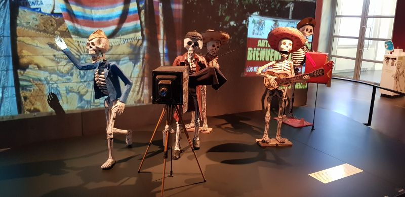 Vriendinnendag Leiden Museum Volkenkunde Dia de los muertos Mexico