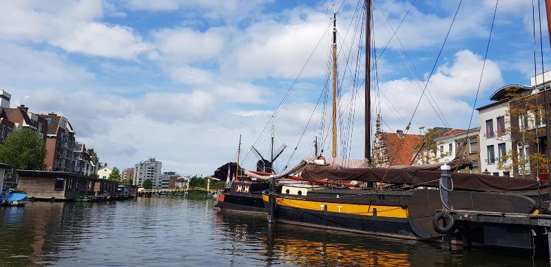 Vriendinnendag Leiden vanaf het water
