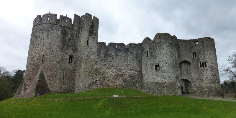 Wales chepstow castel