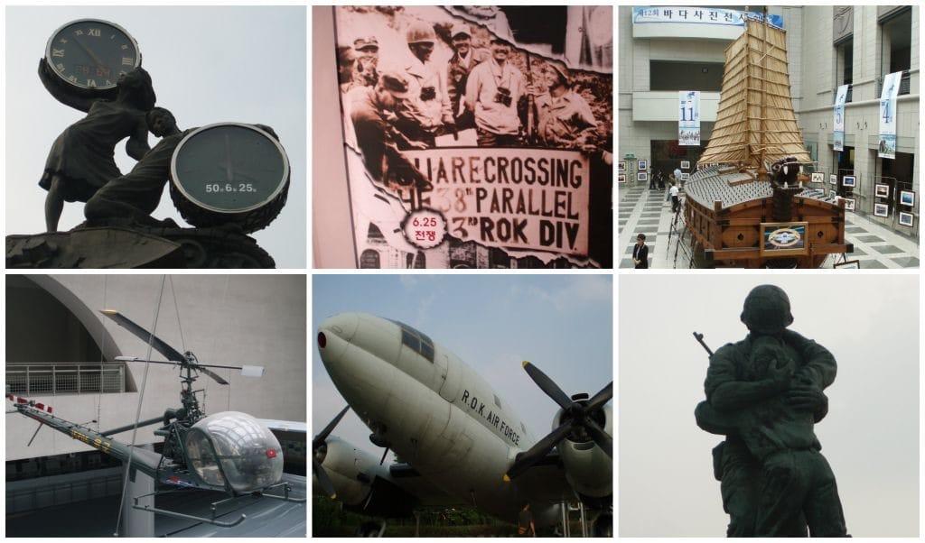 Zuid_Korea Doen in Seoul War Museum