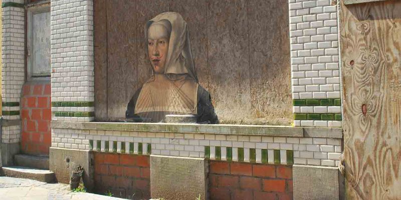 beste street art in Europa België Oostende Crystalship