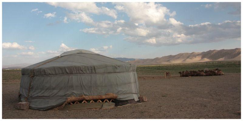 ger tent Mongolië