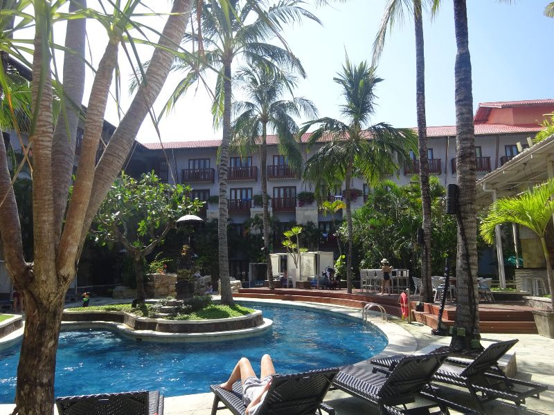 reisroute Bali Hard Rock Hotel Kuta Indonesie
