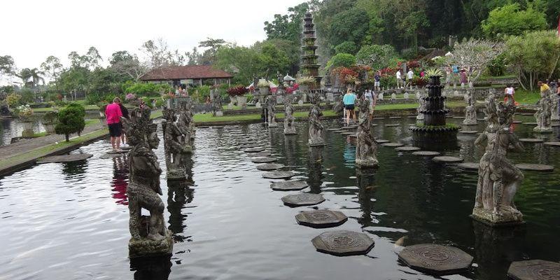 reisroute bali indonesie Tirtagangga