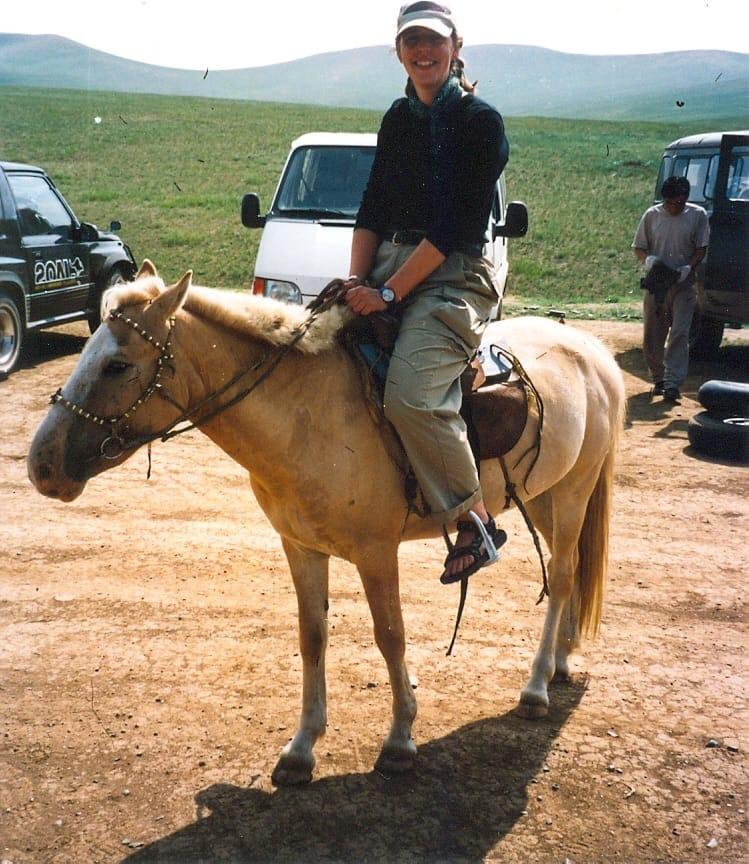 Eva_paard_mongolie Trans Siberië Express